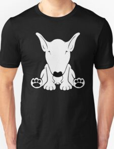 English Bull Terrier Forward Sit 2 Unisex T-Shirt