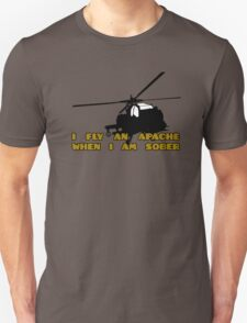 Sober Helicopter Dude T-Shirt