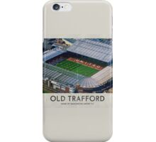 Vintage Football Grounds - Old Trafford (Manchester United FC) iPhone Case/Skin