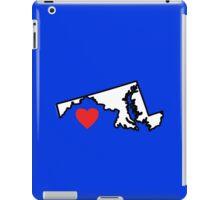 I Love Maryland iPad Case/Skin