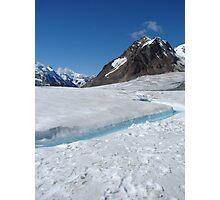 Glacier River Photographic Print