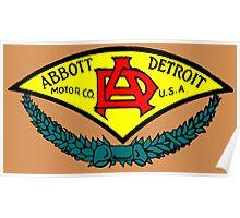 Abbott Motor Company Poster