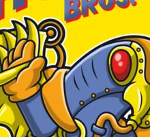 Super Shock Bros 3 Sticker Sticker