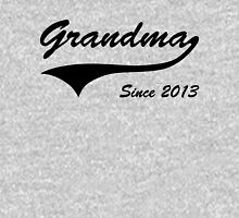 Grandma Since 2013 Womens Fitted T-Shirt
