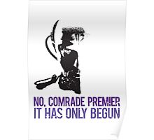 Yuri - No it has only begun Poster