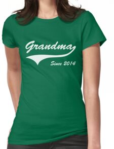 Grandma Since 2014 Womens Fitted T-Shirt