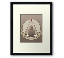 All Seeing Rug Framed Print