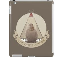 All Seeing Rug iPad Case/Skin