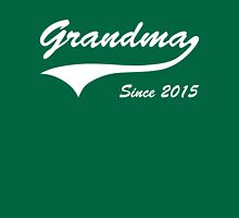 Grandma Since 2015 Womens Fitted T-Shirt