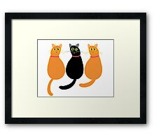 Is That The Sound  Of An Opening Can?!! Framed Print