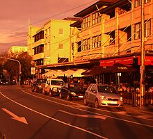 FITZROY St. by leighroy