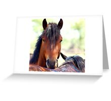 """LOVE IS""....... A NIBBLE ON THE NECK ! Greeting Card"