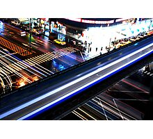 Blazing crossroads 2 Photographic Print