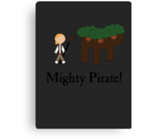 Guybrush Threepwood Mighty Pirate Canvas Print