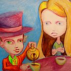Alice & The Mad Hatter by kimbaross