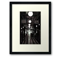 Inconspicuously Melbourne Framed Print