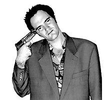 Quentin Tarantino Photographic Print