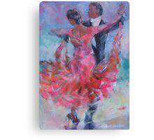 Ballroom Dancing - Dance Gallery Canvas Print