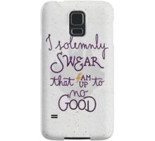 "Harry Potter ""I am up to no good"" Samsung Galaxy Case/Skin"