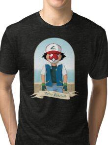 The Son of Pokeball Tri-blend T-Shirt