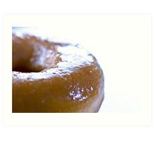 shiny doughnut Art Print