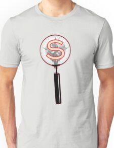 Serial Magnifying Glass Unisex T-Shirt