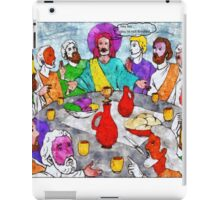 da vinci left several paintings incomplete #16 iPad Case/Skin