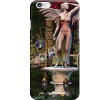 Fairy Statue Landscape 04 iPhone Case/Skin