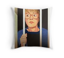 Deirdre Barlow Jail Throw Pillow