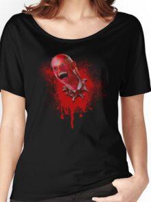 "Tea Times Quatro: ""Rick Scott, Space Invader"" Women's Relaxed Fit T-Shirt"