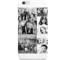 Shaytards Black and White Collage iPhone Case/Skin