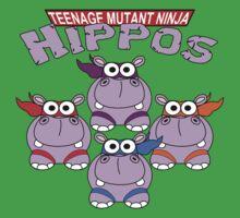 Teenage Mutant Ninja Hippos Kids Tee
