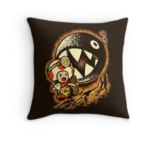 Raiders of the lost star Throw Pillow