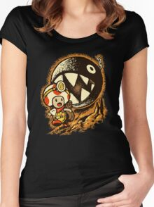 Raiders of the lost star Women's Fitted Scoop T-Shirt