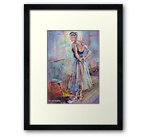In The Studio Framed Print