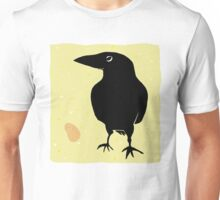 Crow with Peanut Unisex T-Shirt