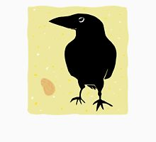 Crow with Peanut Unisex T-Shirt