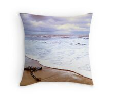 Sea and sand Throw Pillow