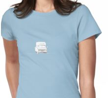 old ambulance Womens Fitted T-Shirt