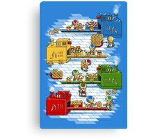 Toad's factory Canvas Print