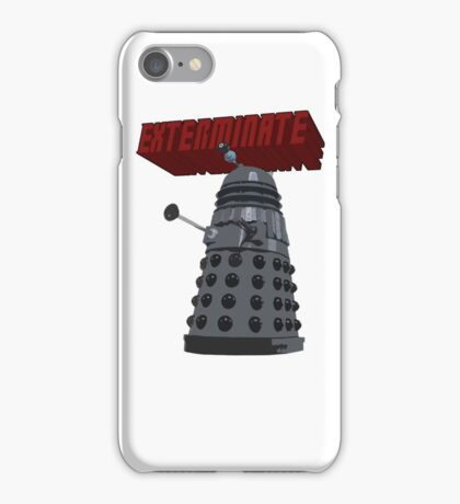 Exterminate with Kindness iPhone Case/Skin