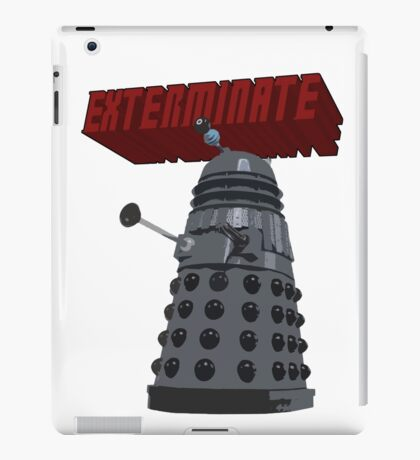 Exterminate with Kindness iPad Case/Skin