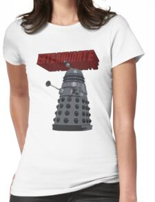 Exterminate with Kindness Womens Fitted T-Shirt