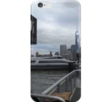Waiting for the Ferry to Lower Manhattan, Jersey City, New Jersey iPhone Case/Skin