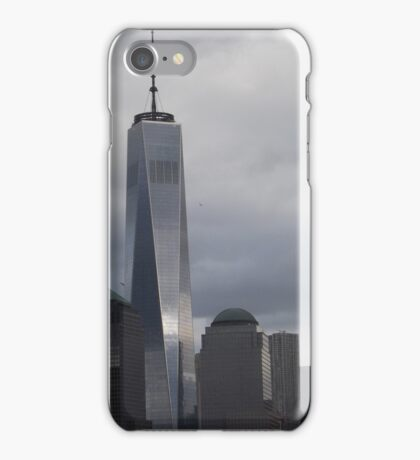 New World Trade Center,  View from Jersey City, New Jersey iPhone Case/Skin