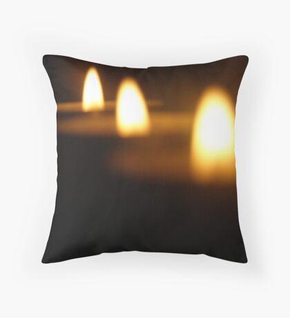 light flame Throw Pillow