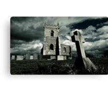 St Mary's Church, Colston Basset, Nottinghamshire, UK Canvas Print