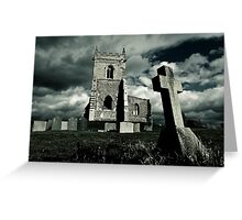 St Mary's Church, Colston Basset, Nottinghamshire, UK Greeting Card