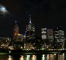 Melbourne at night 06 [r] by DavidsArt