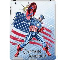 Captain America - Vintage Super Hero iPad Case/Skin
